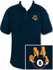 Ozone Billiards 8 Ball Talon Polo Shirt - Navy - Free Personalization
