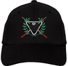 Ozone Billiards Ivy League Hat - Black - Free Personalization