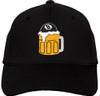 Ozone Billiards Beer Mug Hat - Black - Free Personalization