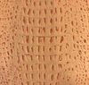 Genuine Leather Cue Wrap - Embossed Alligator Pool Cue Wrap - Tan