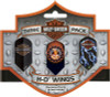 Harley Davidson Wings Slim 3 Pack