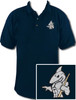 Ozone Billiards Big Shark Navy Polo Shirt - Free Personalization