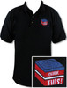 Ozone Billiards Chalk This Polo Shirt - Black - Free Personalization