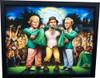 Green Jacket Framed Print