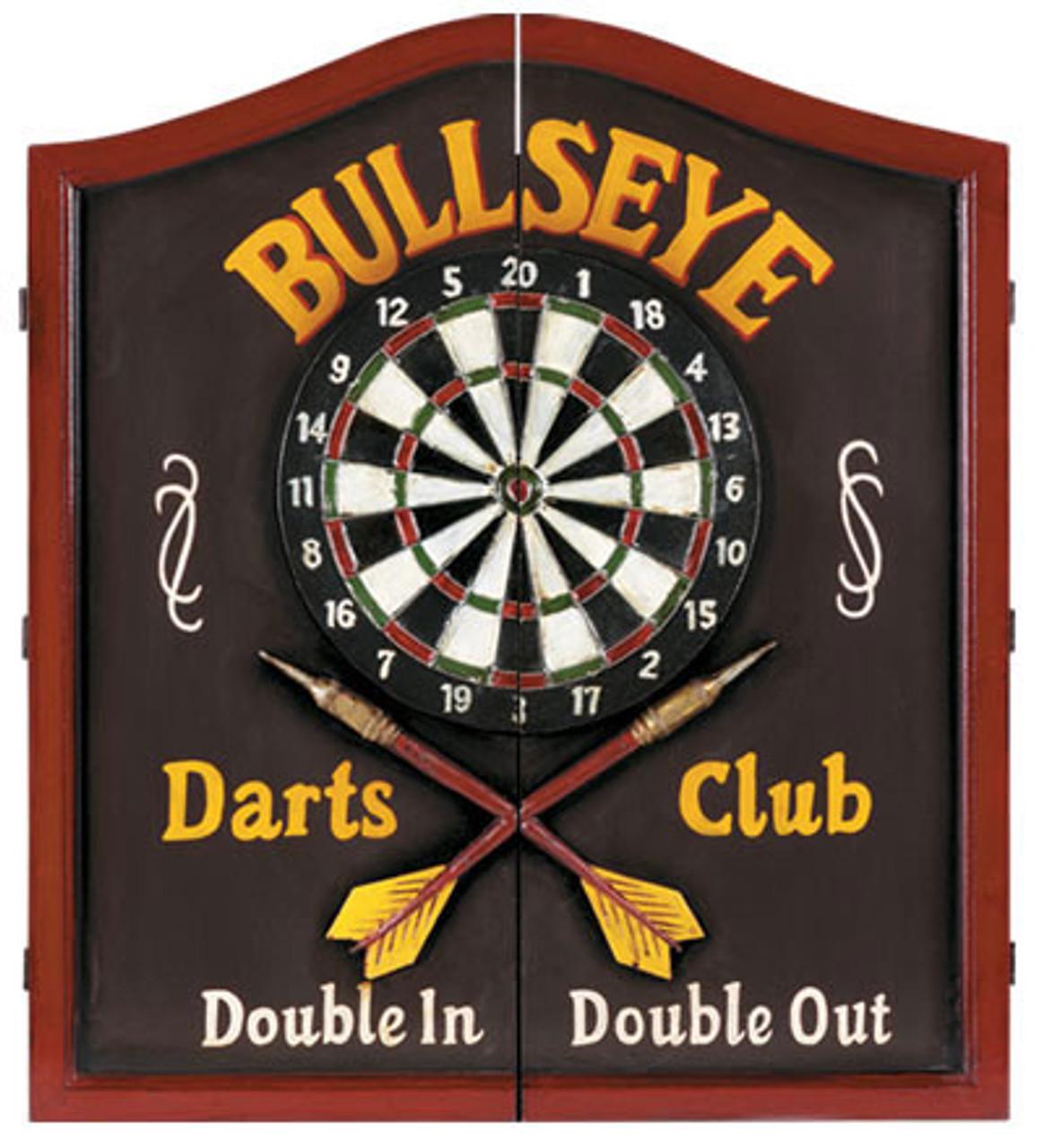 Etonnant Bullseye Dartboard Cabinet