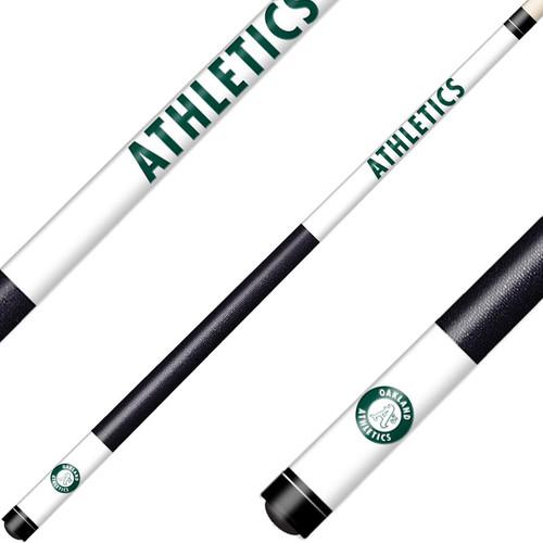 Oakland Athletics Laser Etched Billiard Cue