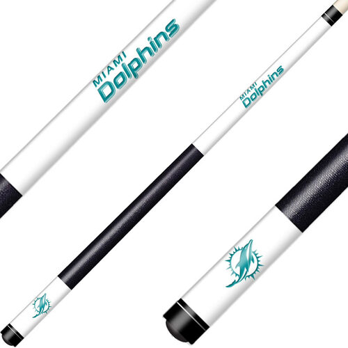 Miami Dolphins Laser Etched Billiard Cue