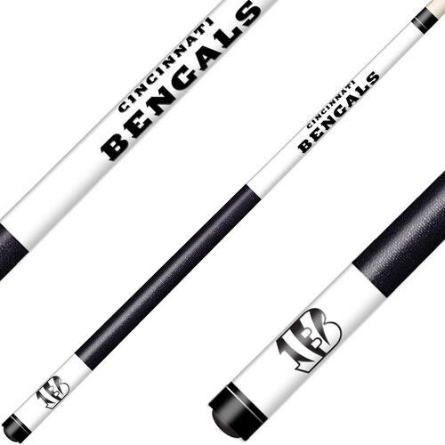 Cincinnati Bengals Laser Etched Billiard Cue