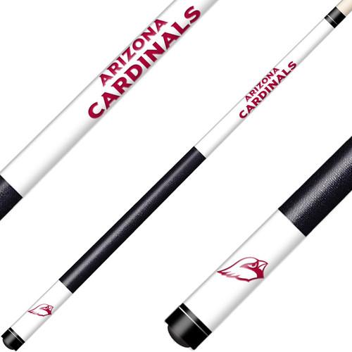 Arizona Cardinals Cue Laser Etched Billiard Cue