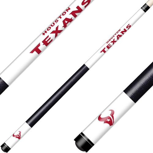 Houston Texans Laser Etched Billiard Cue