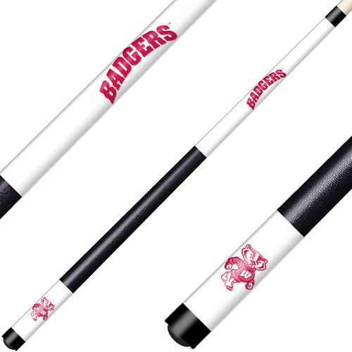 University of Wisconsin Laser Etched Billiard Cue
