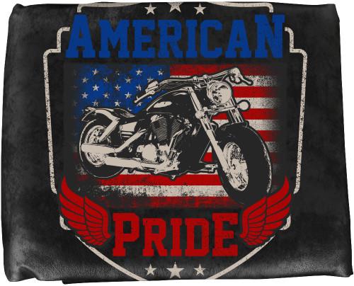 Ozone Table Cover American Pride - 8 Foot Black