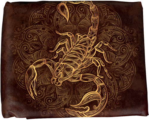 Ozone Table Cover Scorpion - 8 Foot Brown