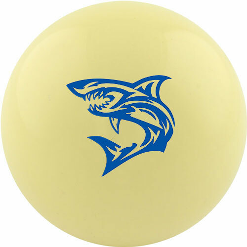 Custom Cue Ball - Tribal Shark