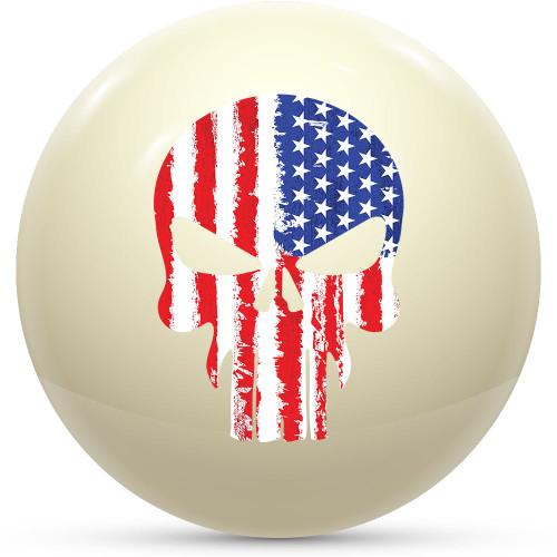 Custom Cue Ball - Punisher USA
