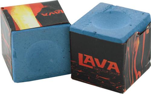 Lava Chalk - Lava Pool Cue Chalk - Blue 2pk