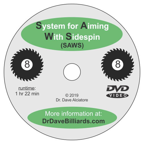 System for Aiming with Sidespin DVD