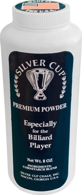 Silver Cup Shakable Hand Talc Powder