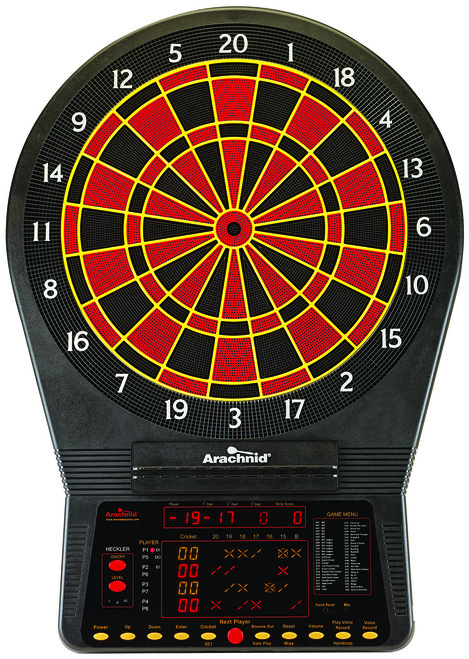 Arachnid Electronic Dartboard Cricket Pro 900
