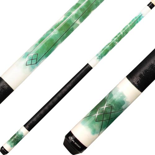 Players Cues - Green Watercolor C-989