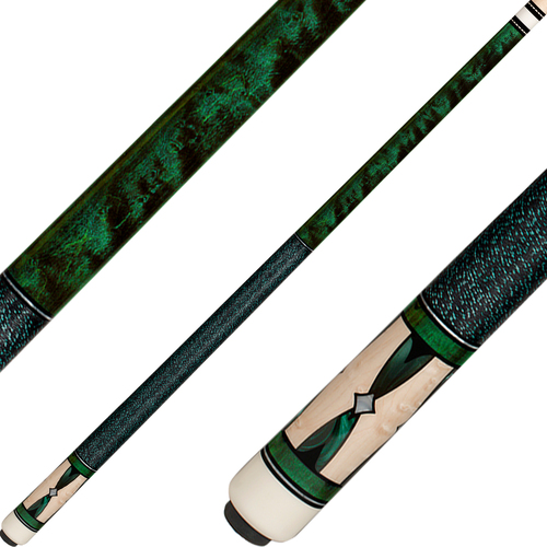 J Pechauer Cues R Series Green Stain JP05