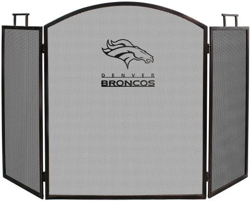 Denver Broncos Fireplace Screen