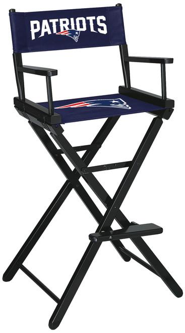 New England Patriots Directors Chair Bar Height