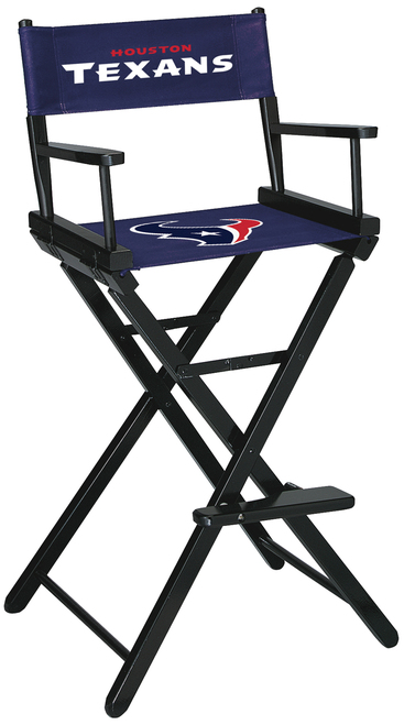 Houston Texans Directors Chair Bar Height