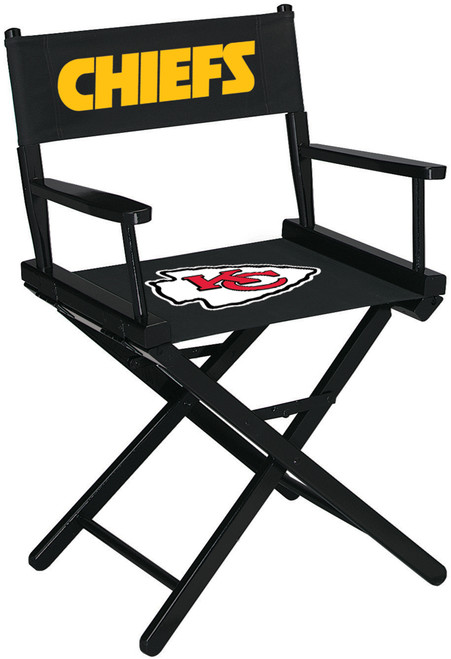 Kansas City Chiefs Directors Chair Table Height