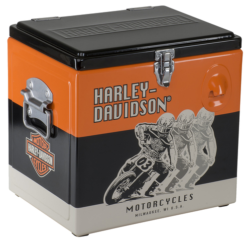 Harley Davidson Cooler Racing Retro