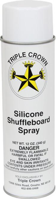 Triple Crown Silicone Shuffleboard Spray Can 12 oz