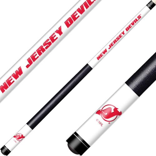 New Jersey Devils Cue Laser Etched