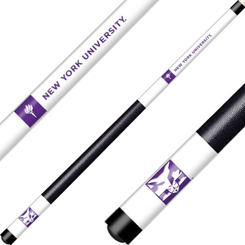 New York University Cue Laser Etched