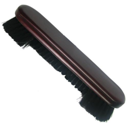 """Nylon Pool Table Brush - 9"""" mahogany"""
