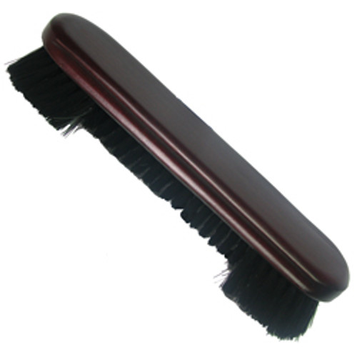 "Nylon Pool Table Brush - 9"" mahogany"