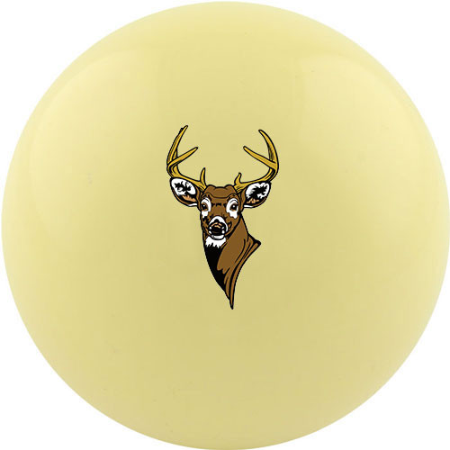Custom Cue Ball - Deer