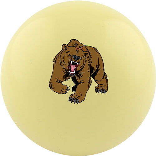Custom Cue Ball - Bear