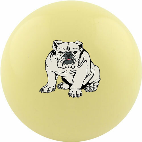 Custom Cue Ball - Bulldog