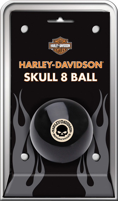 Harley-Davidson 8 Ball - Skull