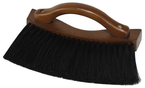 Handled Pool Table Rail Brush Antique Brown