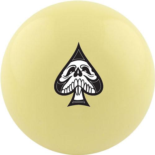 Custom Cue Ball - Spades Suit