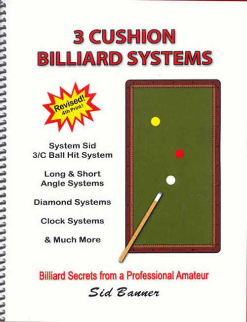 3-Cushion Billiard Systems Billiard Book