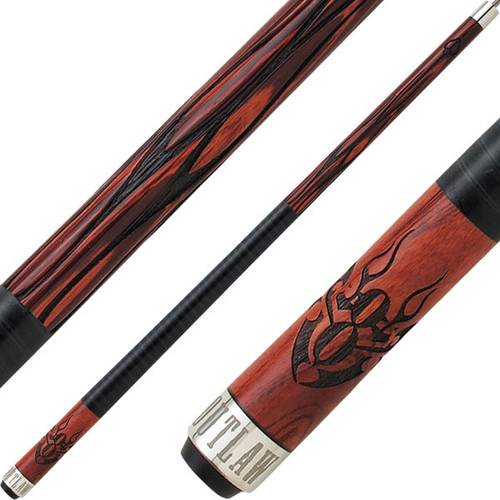 Outlaw Cues - Cherry Flaming Eight