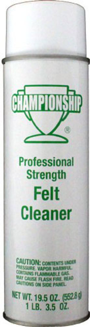 Championship Pool Table Felt Cleaner - Professional Strength
