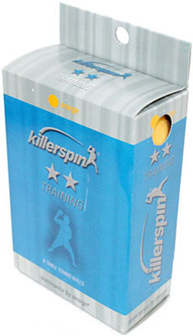 Killerspin Table Tennis Balls Orange 2 Star Training