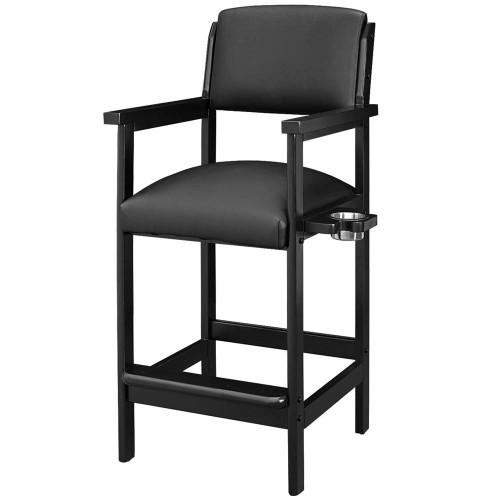 Ram Gameroom Spectator Chair Bar Stool Black