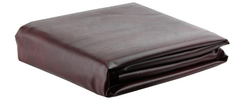 Ozone Burgundy Leatherette Pool Table Cover - 7 Foot