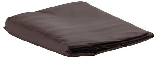 Brown Vinyl Pool Table Cover - 8 Foot