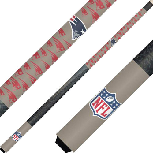New England Patriots Cue And Case Set