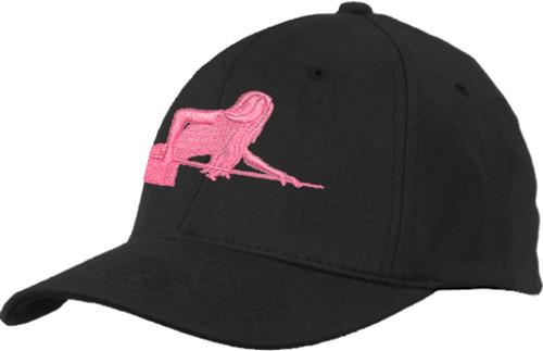 Ozone Billiards Pool Goddess Hat - Black - Free Personalization